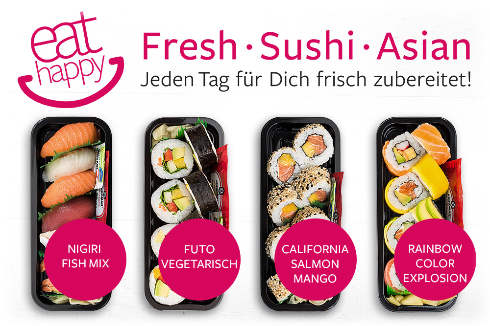 Fresh Sushi Asian - eat happy